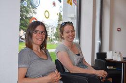 Sandra Marisa Tommasini und Susanne Von Aarburg, konkreet bewegt AG