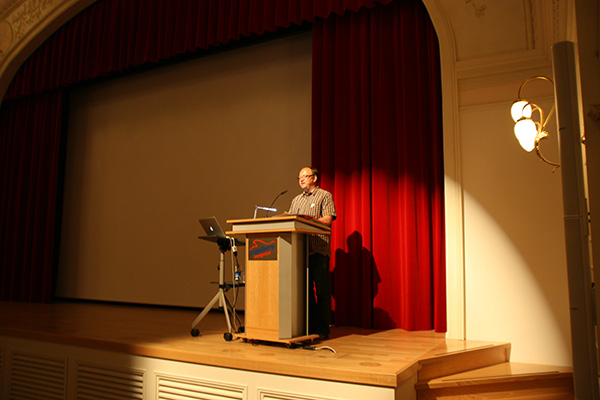 Markus Gander eröffnet die Sommerakademie 2012