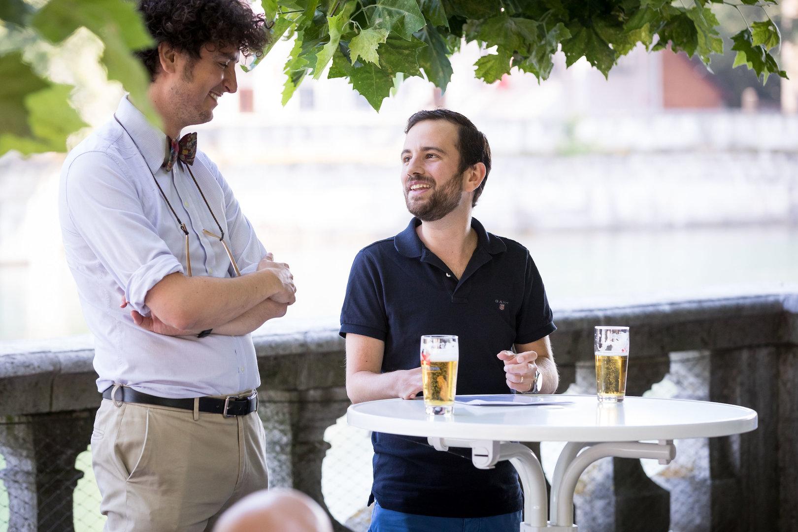 Nicola Forster, Gründer und Präsident Think Tank foraus und Co-Präsident GLP Kanton Zürich im Gespräch mit Dominik Lüdi (Radio 32).