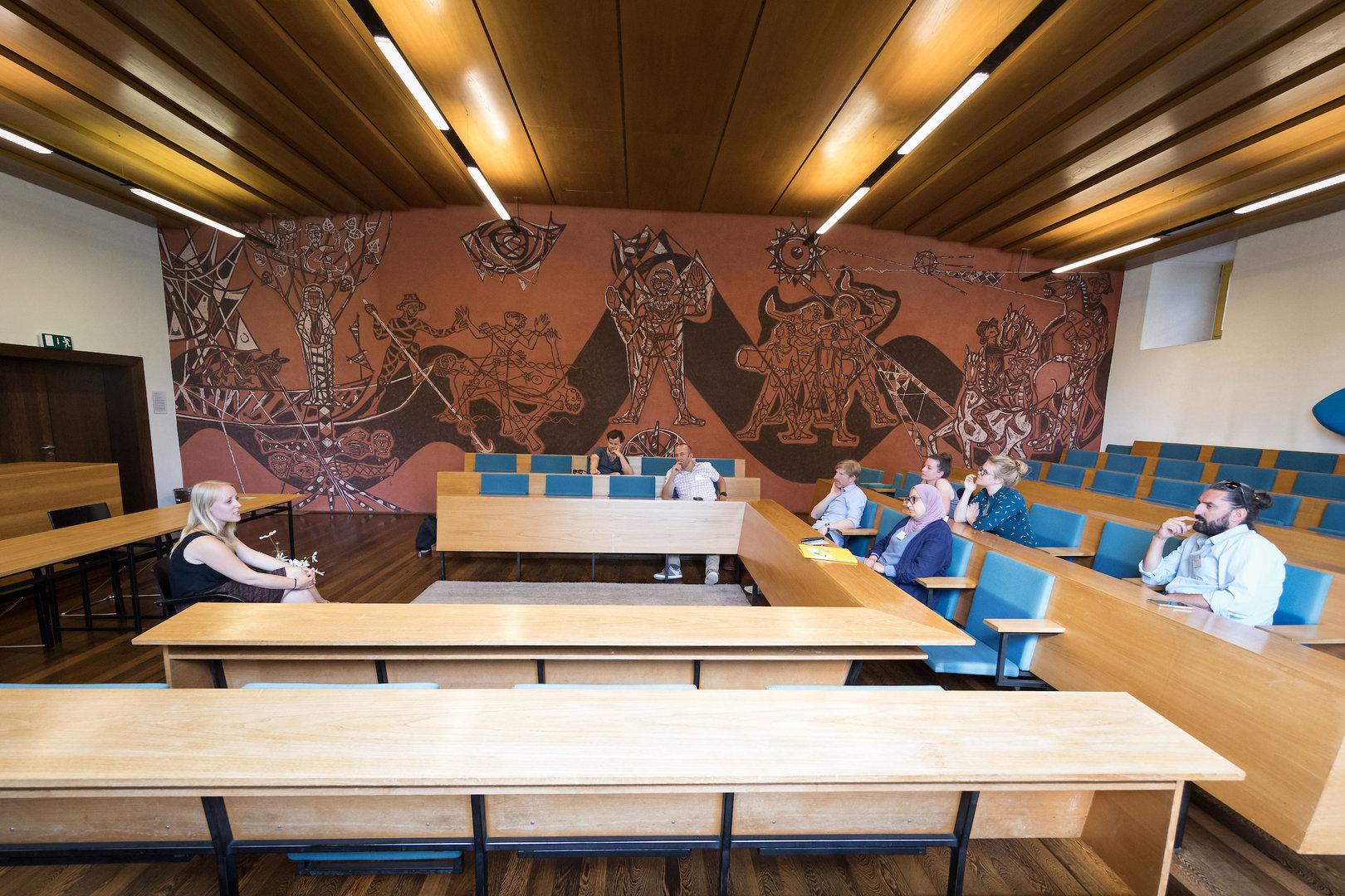 Sprechende Bilder: Die Wandbilder erzählen Solothurner Geschichte.