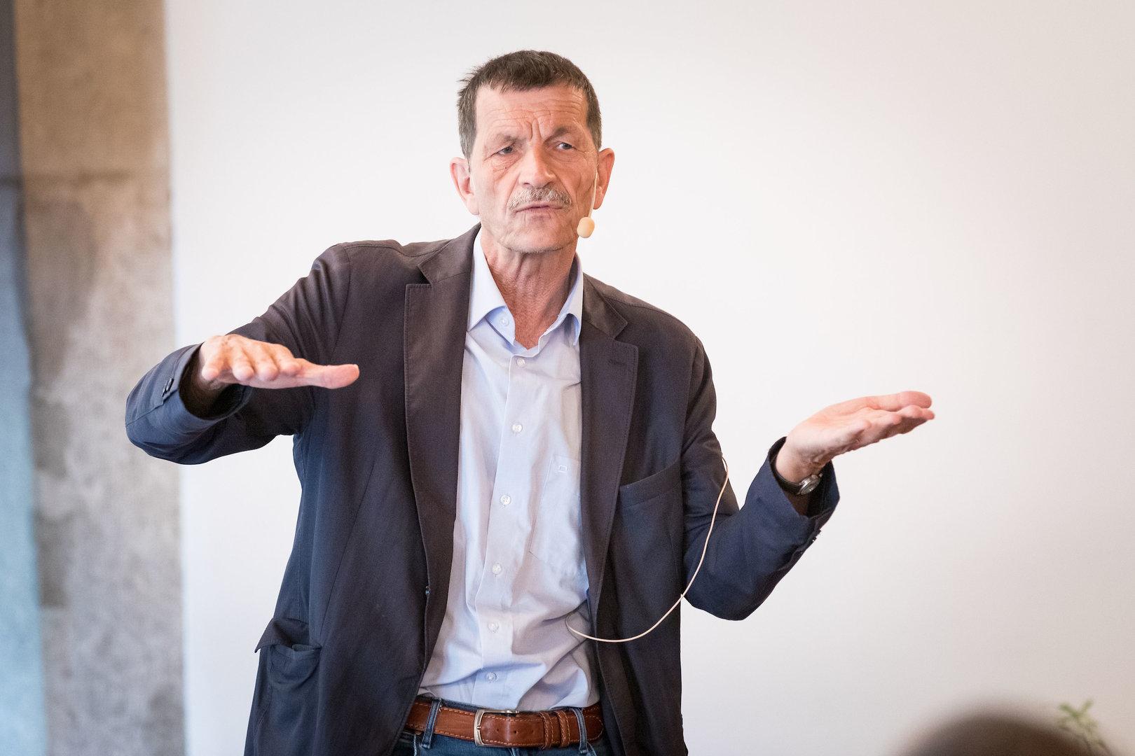 Prof. Dr. em. Ueli Mäder, Soziologe