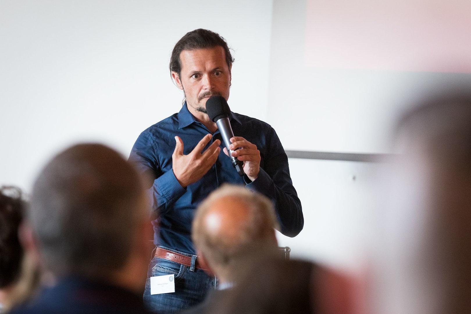 Andreas Tschöpe, Geschäftsleiter SAJV