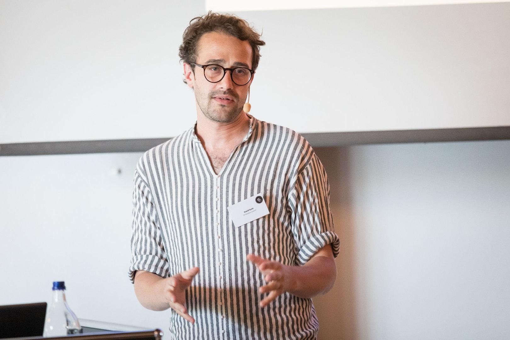 Daniel Roth, Gewerkschaftssekretär und Parteipräsident SP Luzern