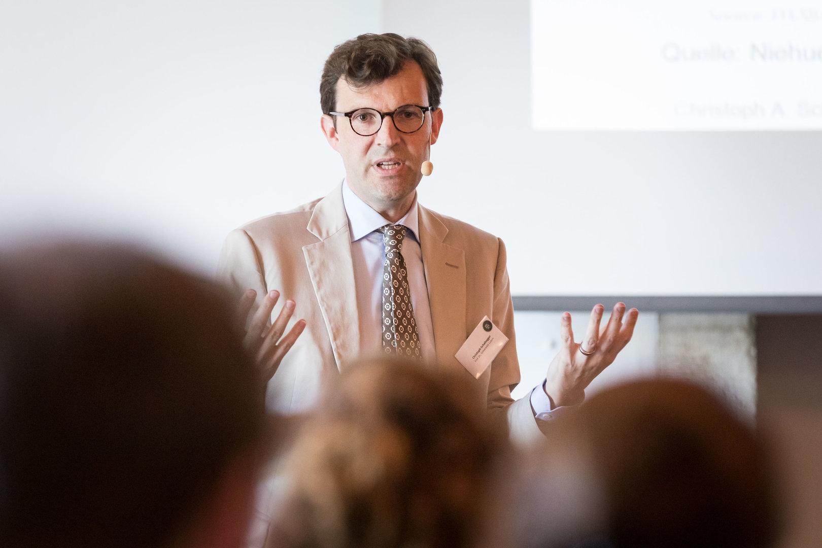 Prof. Dr. Christoph A. Schaltegger, Professor für Politische Ökonomie, Universität Luzern