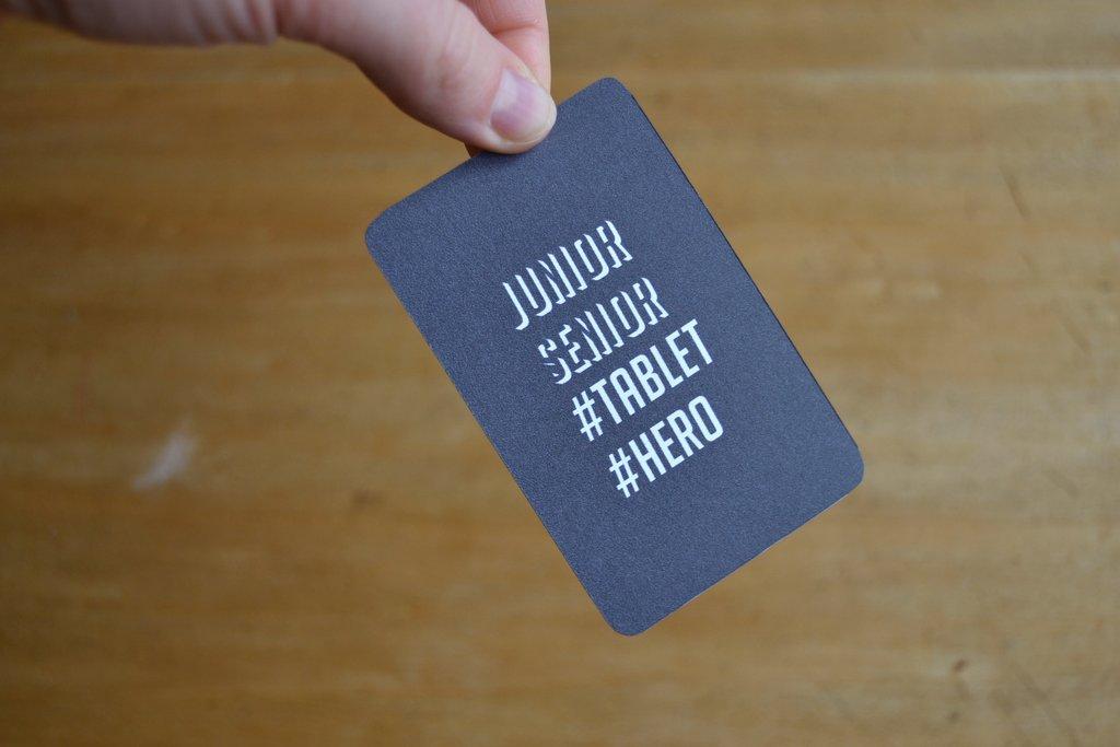 """Jugend """"#Tablet #Hero"""" (Vorderseite)"""